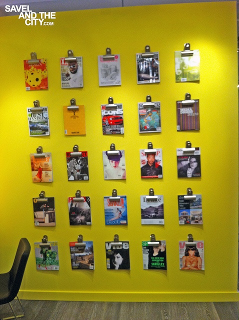 Magazine Display by savelsells, via Flickr