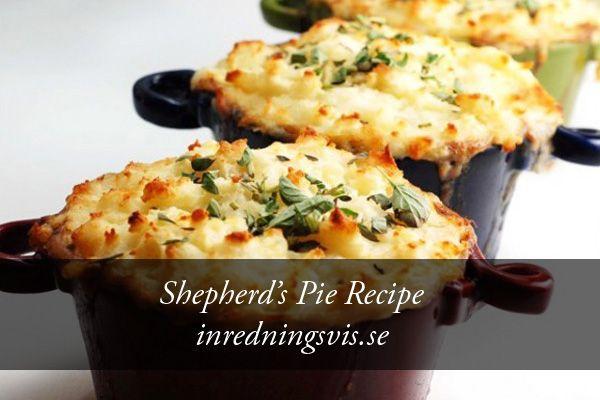 Shepherd's Pie Recipe: http://inredningsvis.se/shepherds-pie-recipe/