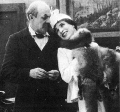 Charlie Chaplin in drag in Essanay's The Woman from 1915