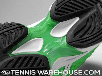 Asics Gel Solution Speed Green/Black Men's Shoes