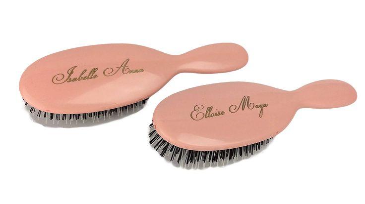 Twins Gift Idea Personalised Mason Pearson Hairbrushes VIRKOTIE www.virkotie.com