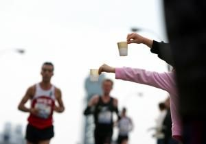Dear Running Doc: I just ran this year's NYC Half Marathon. I have heard many different philosophies about how much fluid to drink during training and during races throughout the year. Can you give me some easy to follow guidelines so that I know I will be drinking properly? Gina G., Northport,  NY.