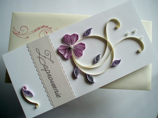 Quilling Wedding Jpg Tags Invitation Husking