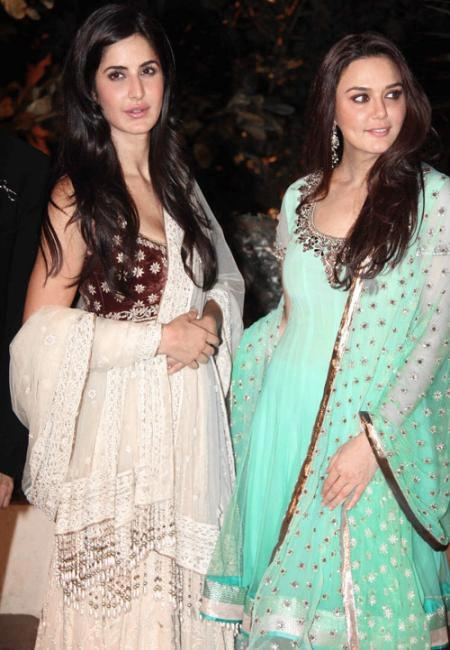 Katrina Kaif and Preity