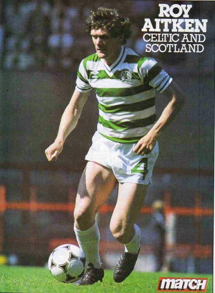 Roy Aitken of Celtic in 1984.