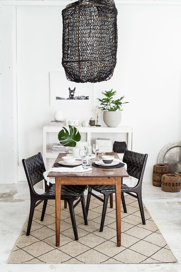 A BEAUTIFUL DINING ROOM | THE STYLE FILES