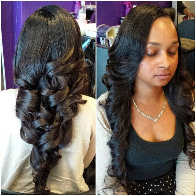 27 best hair sew in weave and braids images on pinterest workflow full sew in with a leave out hair provided by 1ultrahair pmusecretfo Gallery
