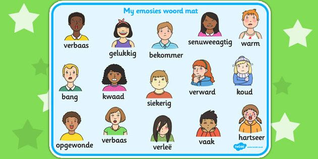 Emotions | Afrikaans