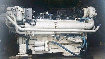 Detroit Diesel 16V92TA DDEC III, Marine Diesel Engine