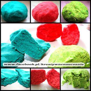 Kreatywne nauczanie: Kolorowe MASY PLASTYCZNE