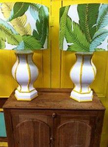 tropical lamp shades - Google Search