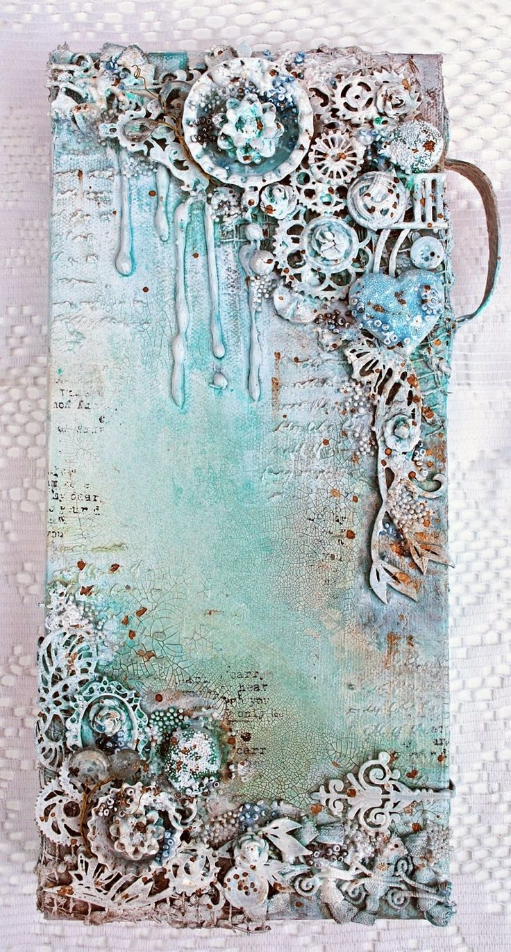 Shimmerz Mixed Media Canvas with Shona
