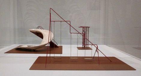 Isamu Noguchi, Playground furnishing