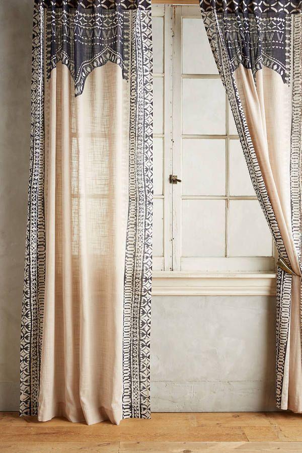 Die besten 25+ bohemian Vorhänge Ideen auf Pinterest Zigeuner - gardinen vorhänge wohnzimmer