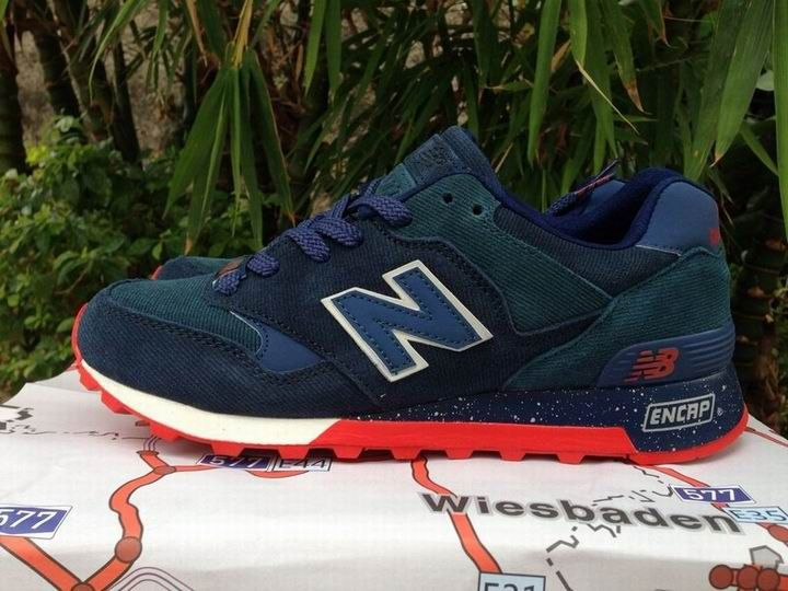 pretty nice 8dd49 dc5cb 2015 New Balance 577 Navy Blue Red Mens Sneakers | New ...