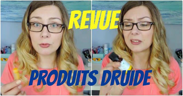 Revue: Produits Druide! (écolo et cruelty free!)