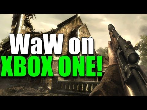 http://callofdutyforever.com/call-of-duty-gameplay/call-of-duty-world-at-war-on-xbox-one-gameplay-backwards-compatible/ - Call of Duty World at War on Xbox One Gameplay! (Backwards Compatible)  Call of Duty: World at War, the final WWII COD, is available on the Xbox One via backwards compatibility! So happy to see people playing WaW again. • Black Ops 3 Mod Tools Open Beta: https://www.youtube.com/watch?v=fC06GSXioWY • COD4/MW Remastered Fun Glitches:...