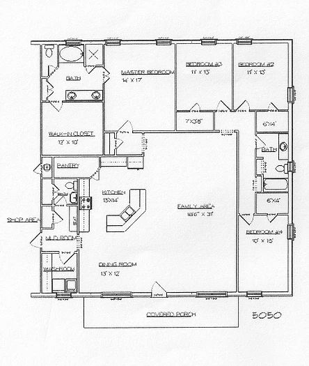 17 best ideas about barn house plans on pinterest pole for Custom home floor plans with cost to build