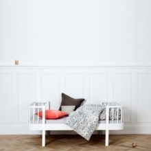 Łóżko junior Wood Collection białe Oliver Furniture