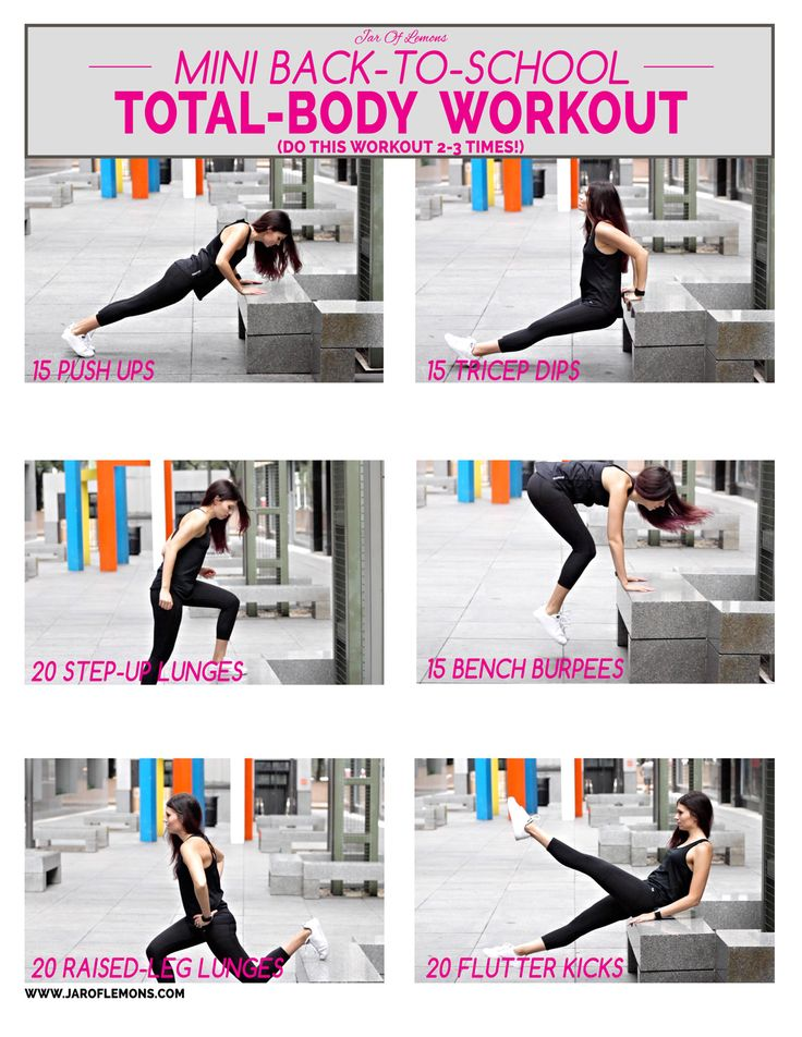 Mini Back-to-School Total-Body Workout!