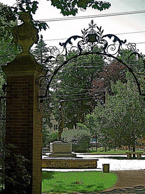 Joshua Chamberlain's Corner ~ From Bowdoin College campus |