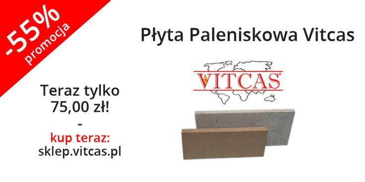 Nowość! Płyty Paleniskowe Vitcas ACC przeznaczone są do kontaktu z ogniem. Charakteryzują się bardzo dobrymi właściwościami akumulacyjnymi i przewodnictwem cieplnym. Wykonane są z materiału odpornego do 1400 C.  Zapraszamy do naszego sklepu: http://sklep.vitcas.pl/pl/p/Plyta-Paleniskowa-Vitcas/326