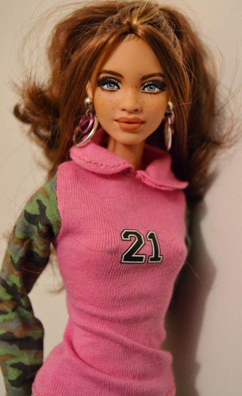 Morrie- Biracial SIS Marisa Repaint by Doll Anatomy ...