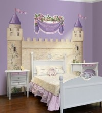Princess Castle Wall Mural
