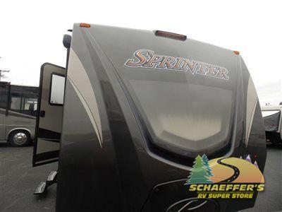 New 2016 Keystone RV Sprinter 313BHS Travel Trailer at Tom Schaeffer's RV Superstore   Shoemakersville, PA   #10822