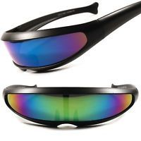 Sci-Fi Space Robot Party Costume Cyclops Futuristic Novelty Revo Lens Sunglasses