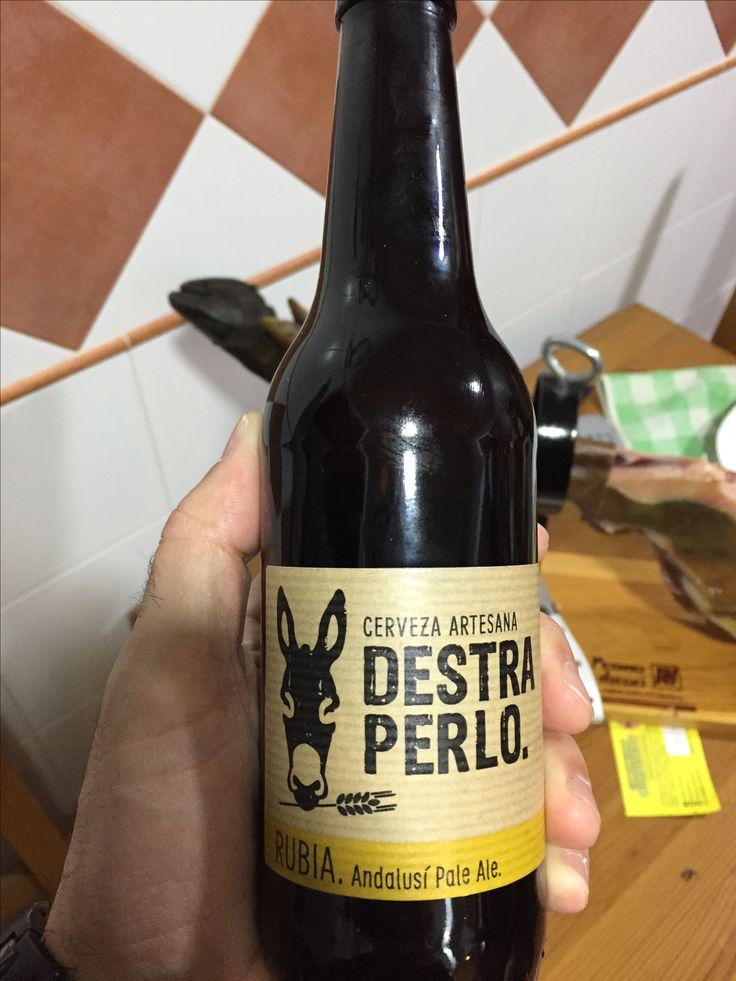 #Cerveza artesana de Jerez, entre otras cosas con un pelín de romero... #destraperlo #beer #jerez #spain