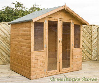 Cotswold 7x5 Shiplap Summerhouse - Fully Glazed Doors  http://www.greenhousestores.co.uk/Cotswold-7x5-Shiplap-Summerhouse-Fully-Glazed-Doors.htm