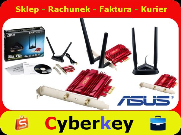 Karta Sieciowa Wifi Asus Pce Ac56 Dwuzakresowa 5370777295 Oficjalne Archiwum Allegro Asus Wifi Vehicle Jumper Cables