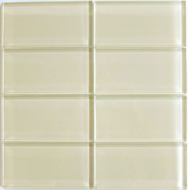 84 Best Cream Ivory Glass Tile Images On Pinterest Glass Tiles Kitchen And Kitchen Ideas