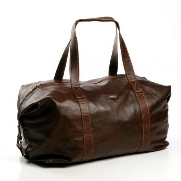 Masai Carrier Weekender Bag | Tabacco | by THANDANA