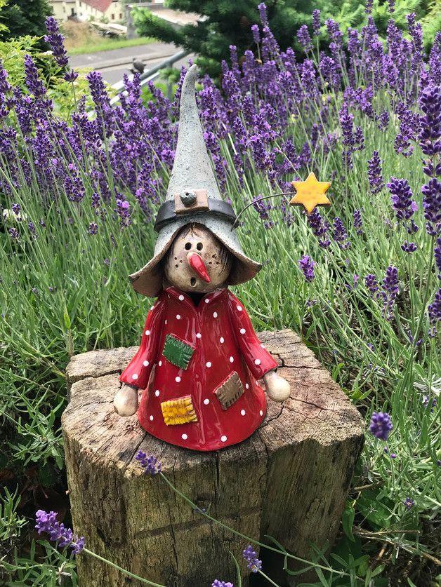 Hexengartenfiguren Garten & Floristik Mit Liebe handgemacht in Leinach De He …   – Salzteig ideen