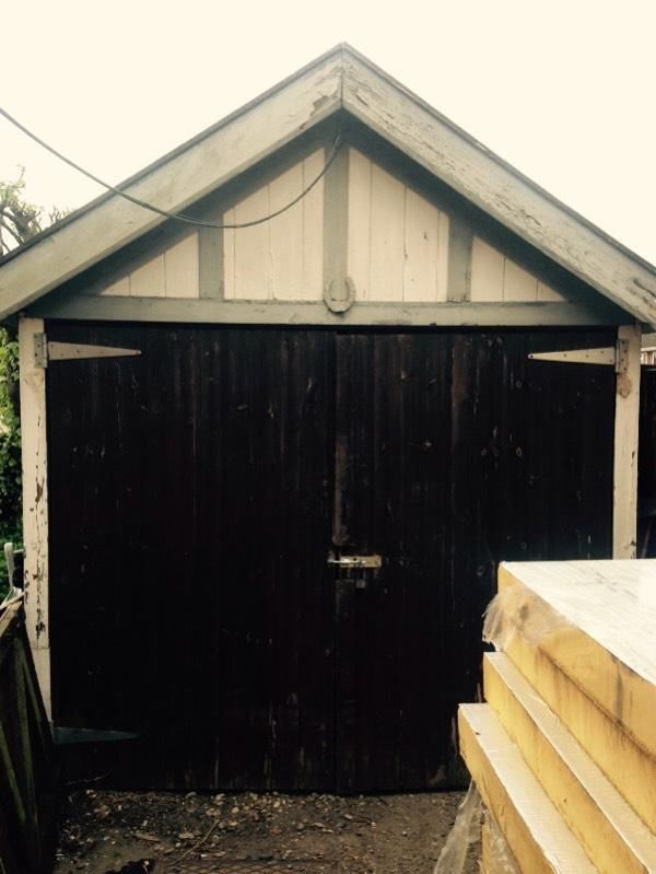large 1930s wooden garage shed workshop united kingdom gumtree prefab garden room pinterest prefab doors and room