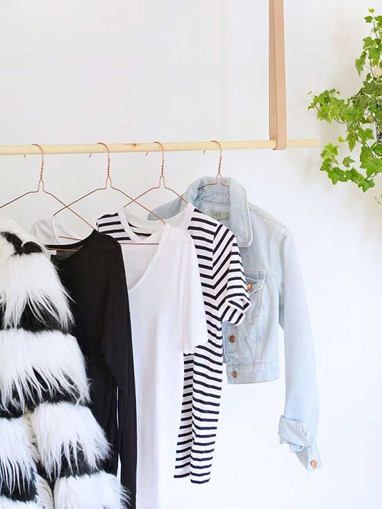 Lack of storage space is a problem that nearly all of us face. Whether you're blessed with lots of room or limited to pint-size square footage,  there never seems to be quite enough space for clothing. Thankfully, there are a/