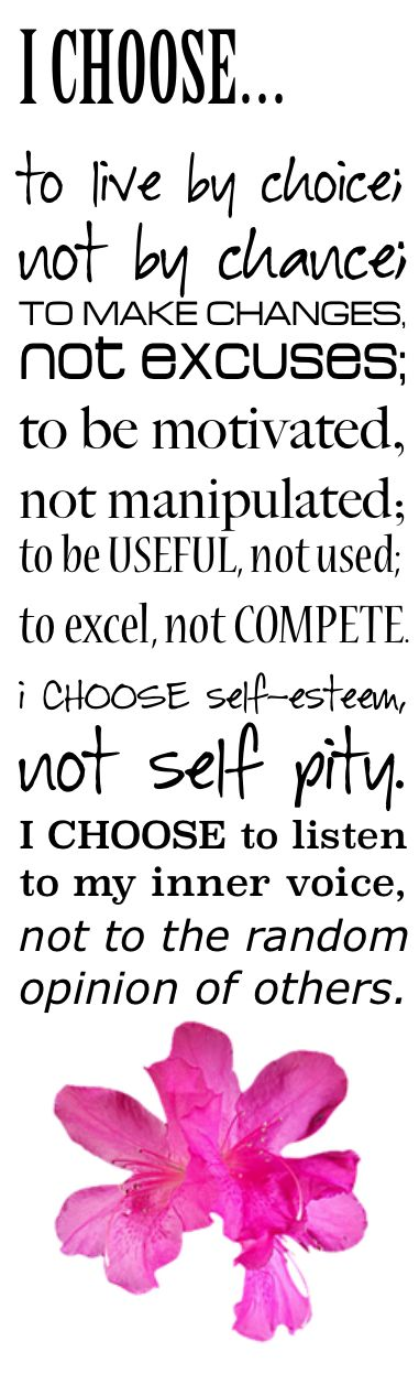 Wise words to live by.... :) BELIEVE in YOUrself! | image created by LOLO.. #inspiration #motivate
