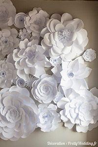 Fleurs de papier #fleur #diy #tutoriel #mariage