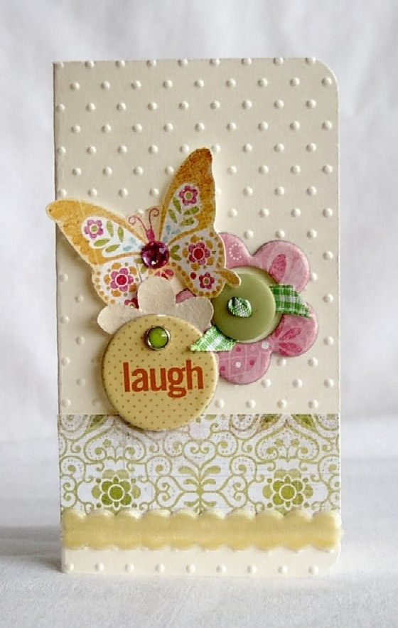 Laugh...Handmade Card