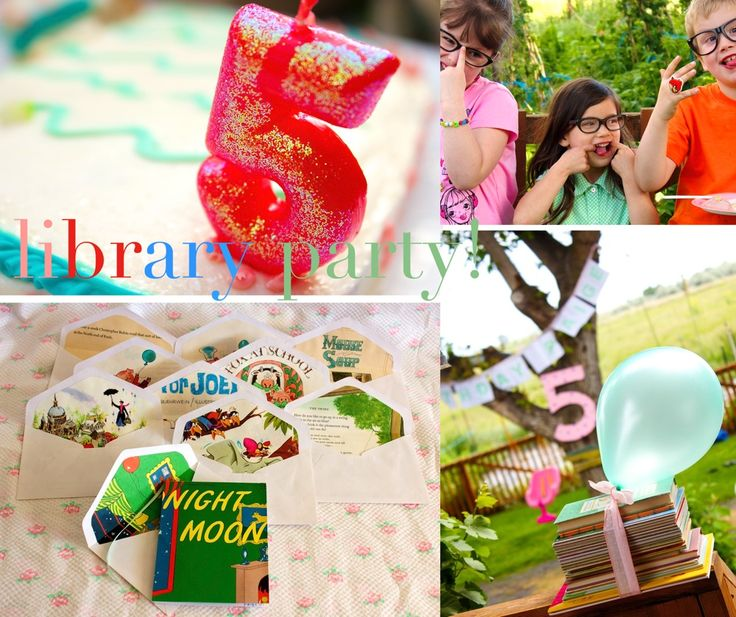 1000+ Ideas About Book Themed Parties On Pinterest