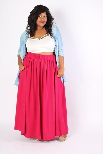 17 best ideas about pink crop top on pinterest short for Cute shirts for maxi skirts