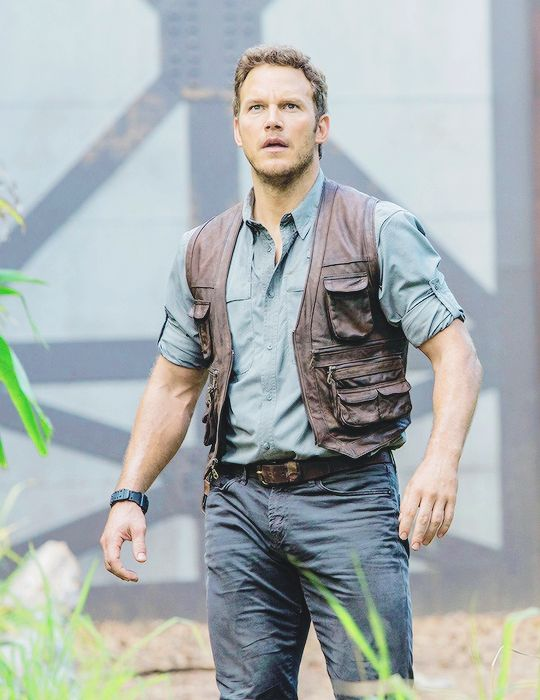 Jurassic World Chris Pratt Owen Leather Vest