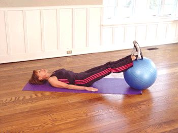 """""""This is 1 of the BEST and safest exercises to strengthen your hamstrings"""" --@TheCoachNicole"""