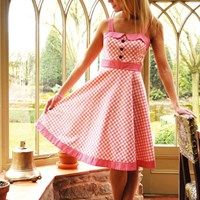 free pattern - Fabulous 50's Sundress