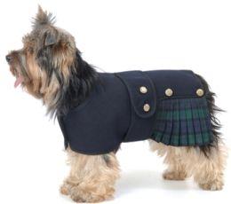Cappotti cani, TRA cui cappotti canna Harris Tweed, Highland e cappotti per cani Scozzesi. Cosi Kilt Dog Coats in Black Watch Tartan, astuto ...