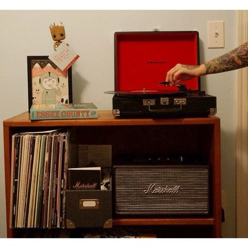 marshall speaker with turntable - Google Search