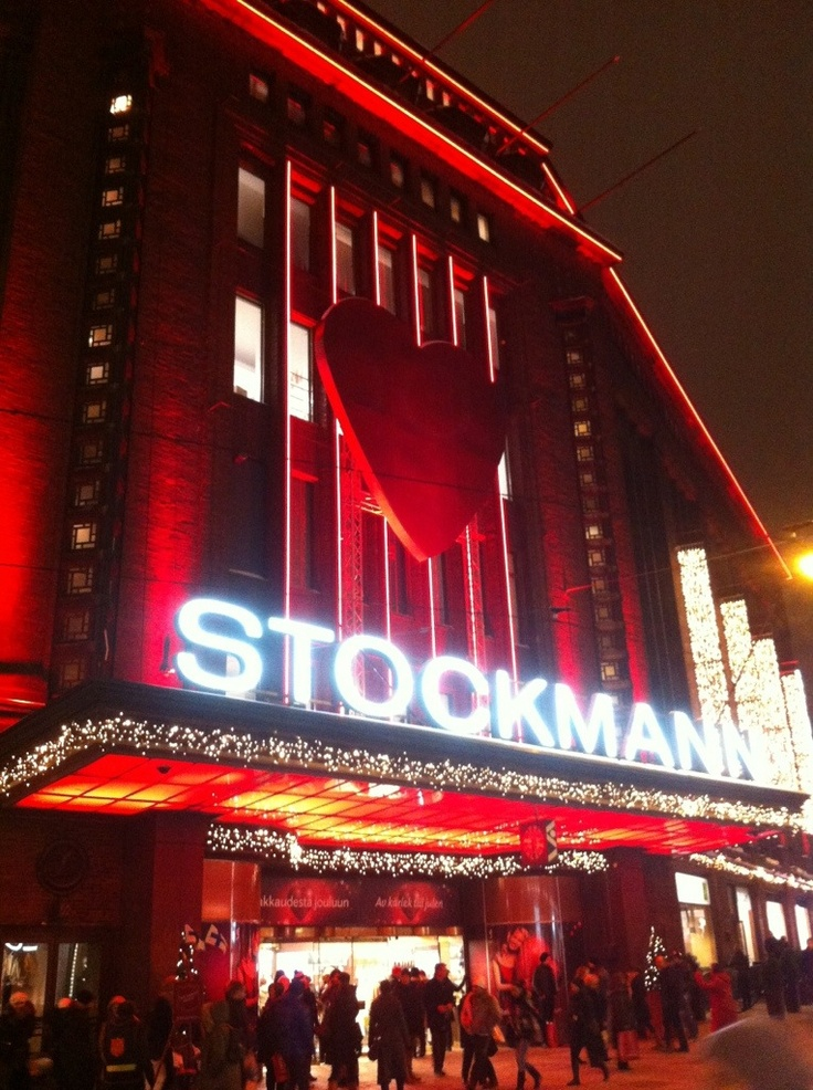 Stockmann at Helsinki, Finland