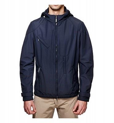 BREMA Paddock/M. Pratica giacca con chiusura a zip, dotata di 4 comode tasche sul davanti, Realizzata in nylon, cotone e film poliuretanico che garantisce elevate proprietà antiacqua e antivento.